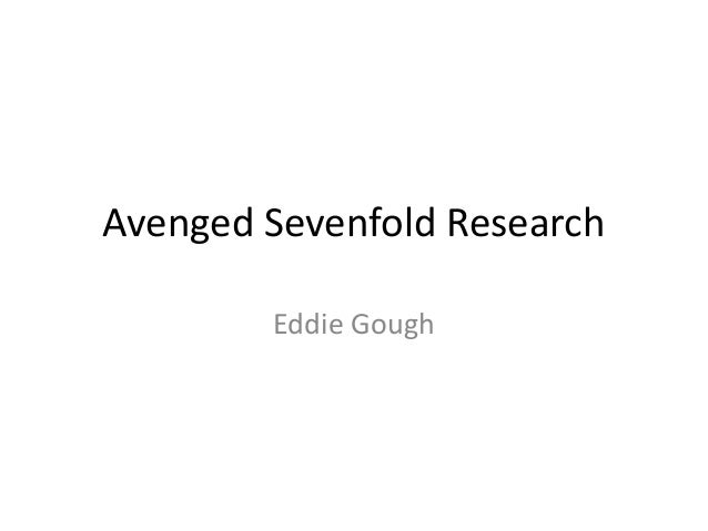 Avenged sevenfold research