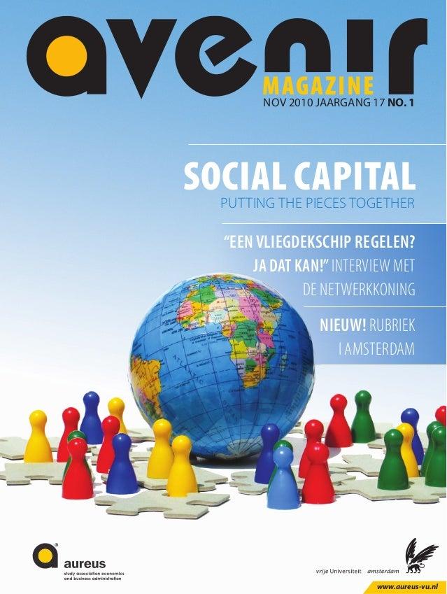 Avenir Magazine 1