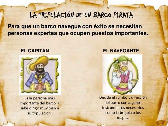 La clase de marisa proyecto los piratas informaci n for Todo sobre barcos