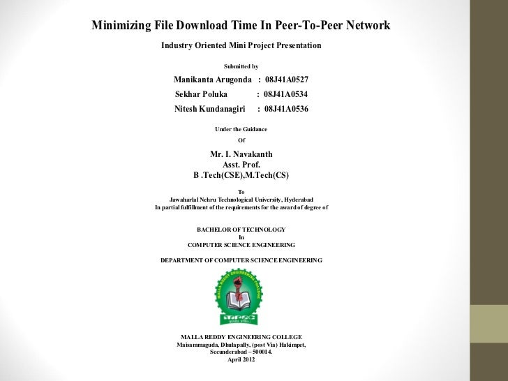 Avg file download time ppt