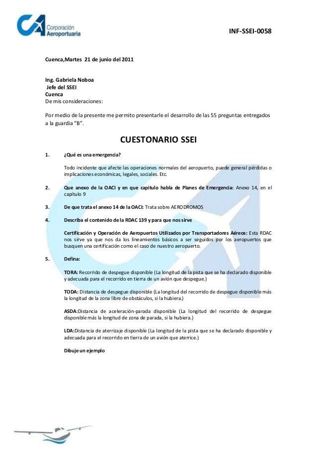 INF-SSEI-0058Cuenca,Martes 21 de junio del 2011Ing. Gabriela Noboa Jefe del SSEICuencaDe mis consideraciones:Por medio de ...