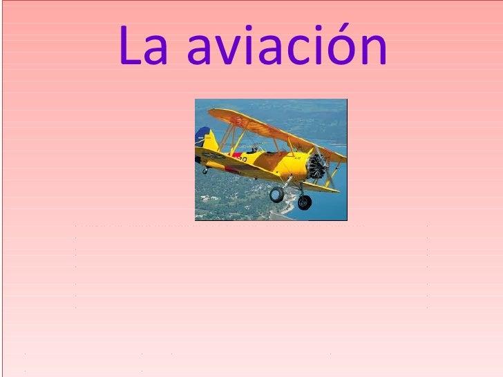 Aviacion proyecto