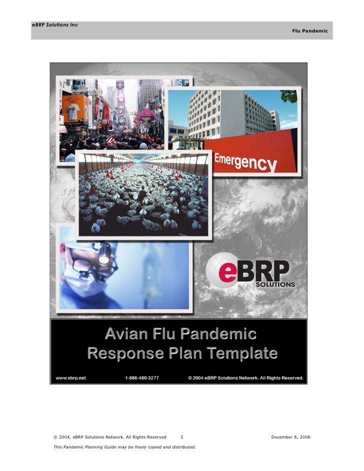 eBRP Solutions Inc                                                                                      Flu Pandemic      ...