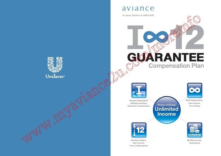 Aviance unilever compensation plan