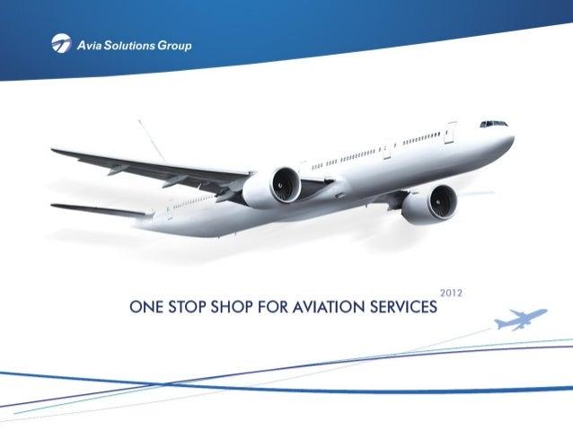 Avia solutions group  corporate presentation