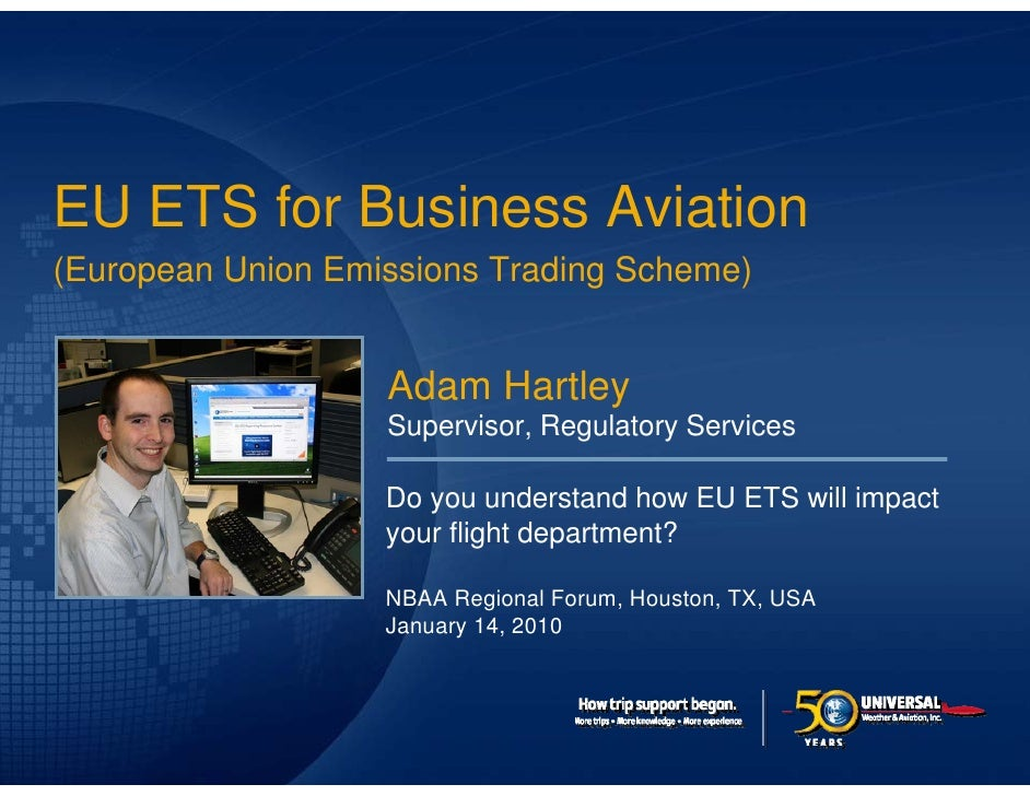 Click to edit Master title style  EU ETS for Business Aviation (European Union Emissions Trading Scheme)                  ...