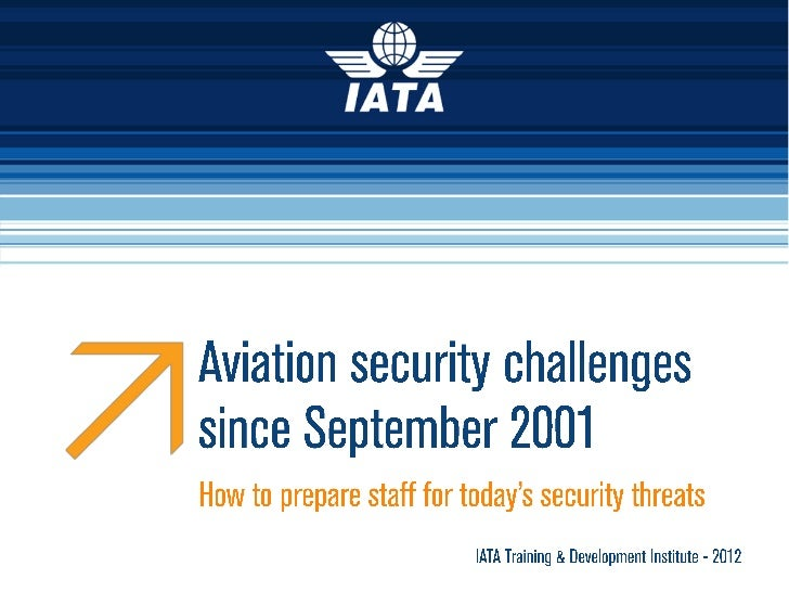 Aviation Security since September 2001