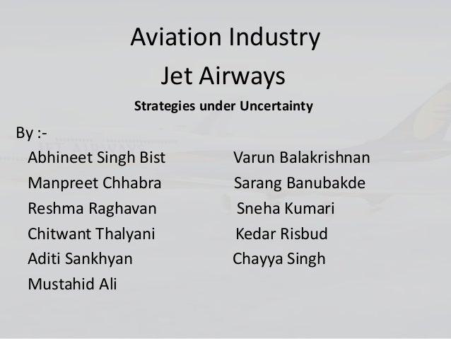 Aviation industry strategic management jetairways By manpreet singh digital