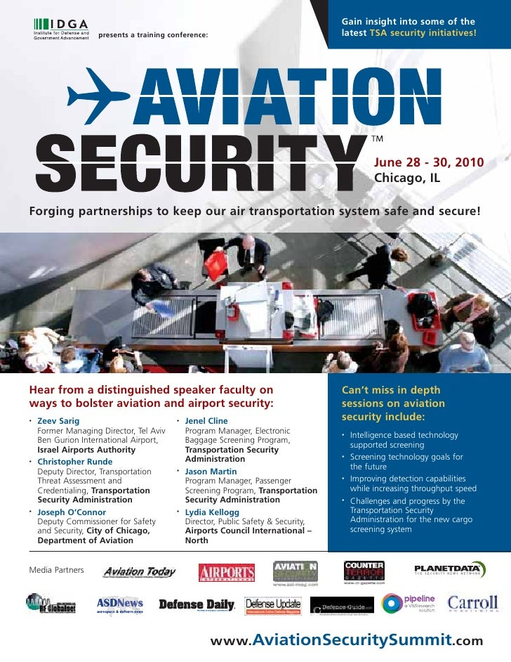IDGA's Aviation Security Summit