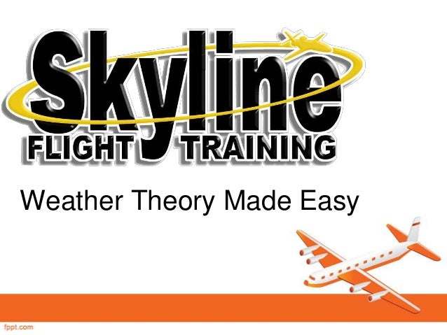 Aviation Weather Theory Made Easy