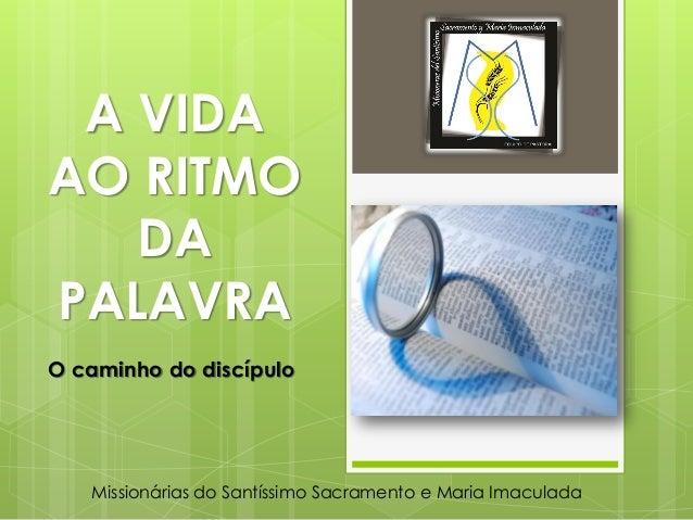 A vida ao ritmo da palavra   portugués