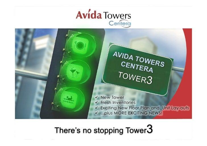 AVIDA                           TOWE                       CENT     RS                            ERA                     ...