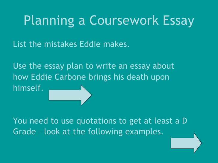 IGCSE Lit Exam - Sample Essay Marking -