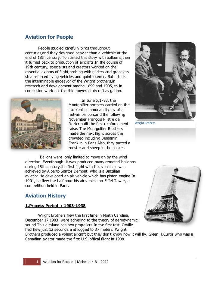 Aviation History for People