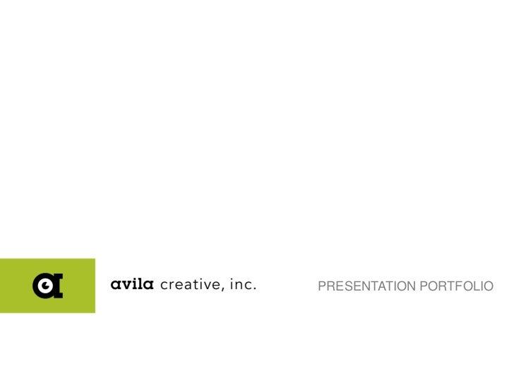 ACI: Presentation Design Porfolio 05-15-12