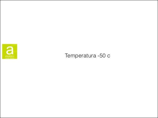 Temperatura -50 c
