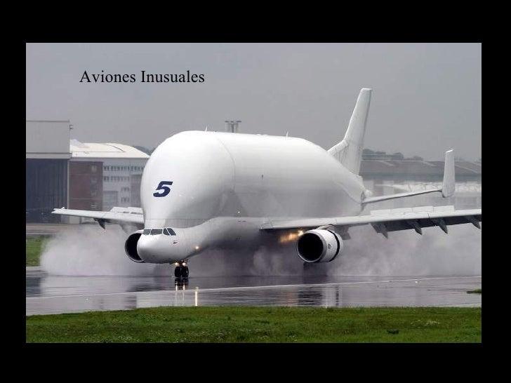 Aviones Inusuales