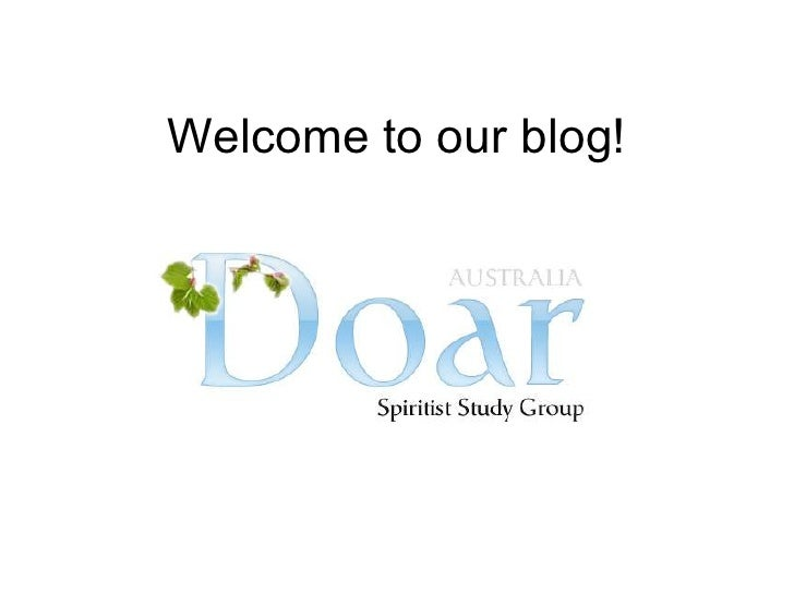 Welcome to our blog!<br />