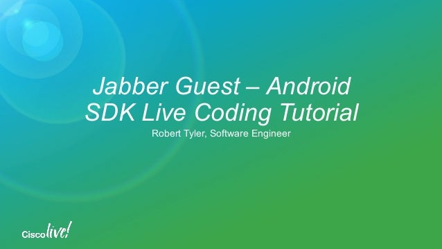 cisco jabber for android user guide