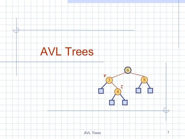 AVL Trees                                   6                   v                       3               8                 ...