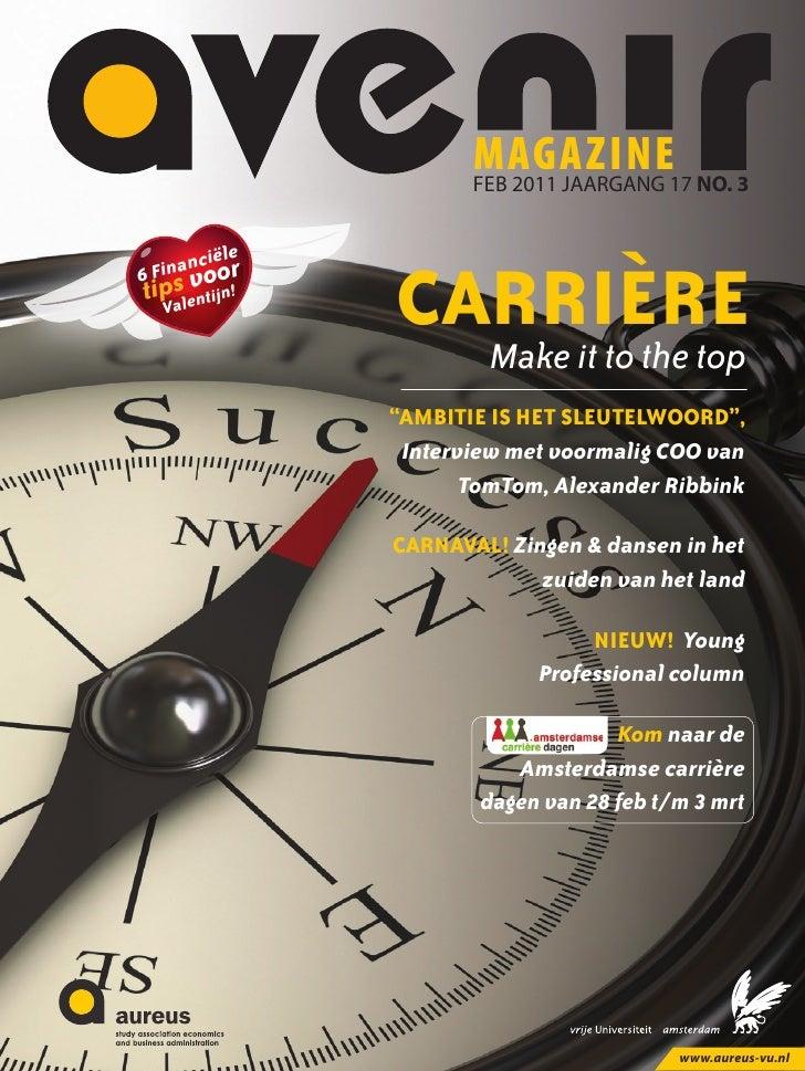 magazine17 NO. 3                       feb 2011 JAARGANG         iële     nancoor6 Fi   svtipalentijn!  V                C...