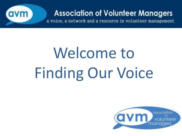 Welcome to Finding Our Voice