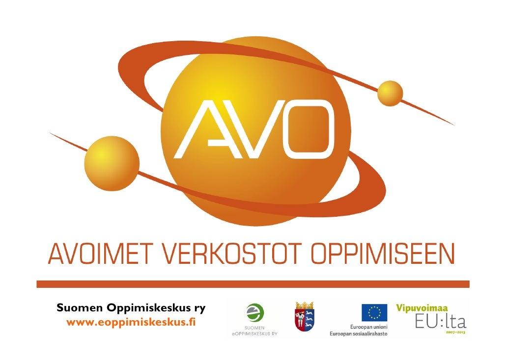 AVO-hanke esittely 2009