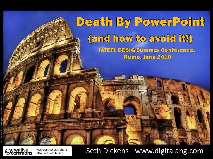 Death By PowerPoint - (and How To Avoid It)