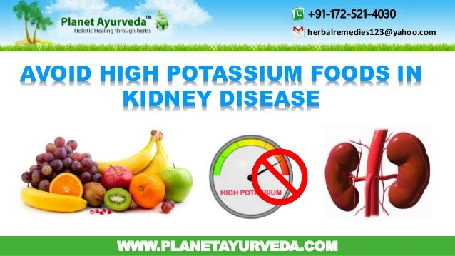 Are Foods High In Potassium Bad For You