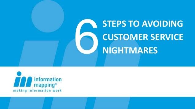 Avoiding customer service nightmares