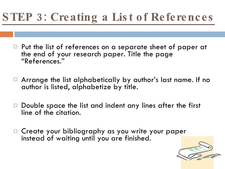 How do I cite sources in a research paper?