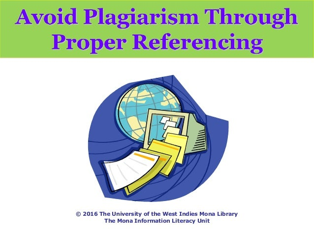 How do you include references to photos and books on a website to avoid plagiarizing?