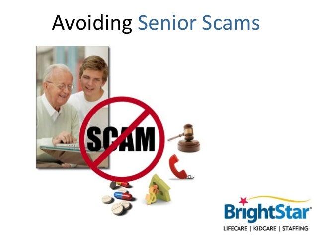 Avoiding Senior Scams