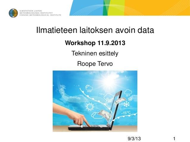 Avoindata workshop tekninen_yleiskuvaus