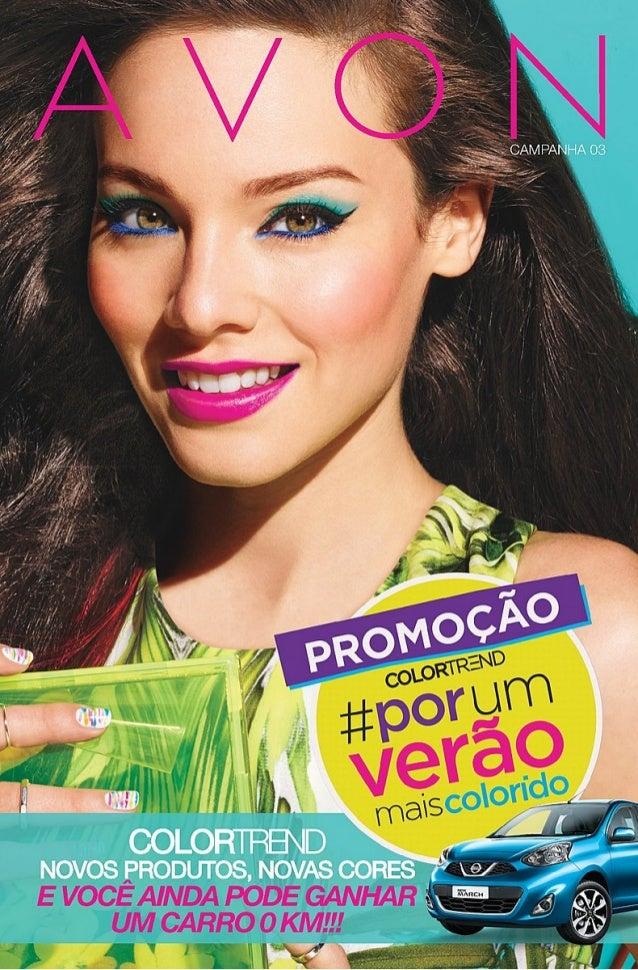 Catálogo Avon Campanha 3/2015