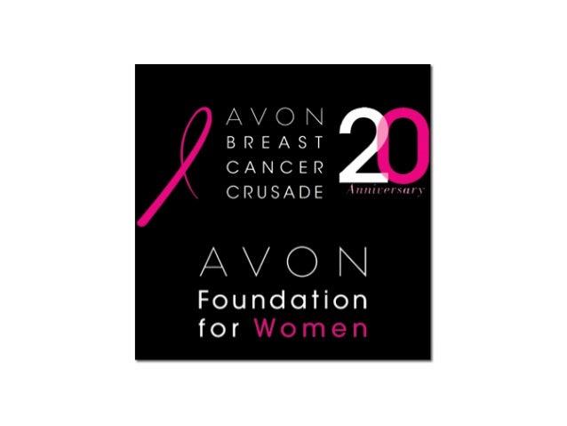 Avon breast cancer crusade presentation