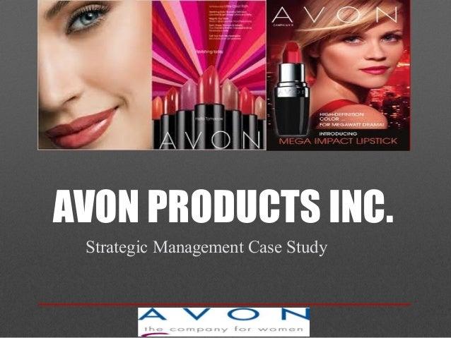 AVON PRODUCTS INC. Strategic Management Case Study