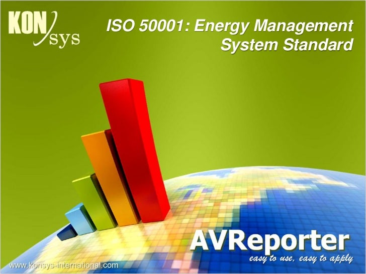 AVReporter Energy Management Software and ISO50001 Benefits