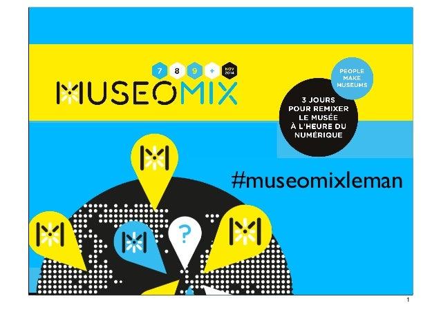 #museomixleman #museomix #museomixleman 1