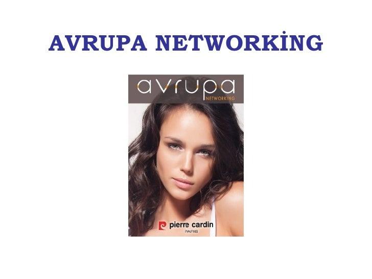 Avrupa Networking