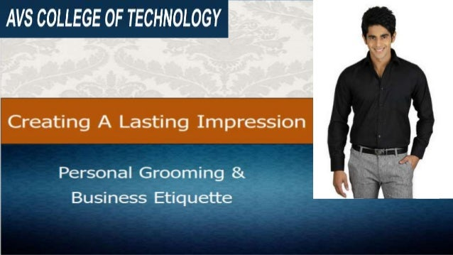 Avs personal grooming business etiquette
