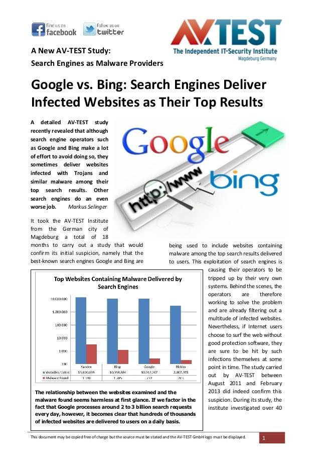 Avtest 2013 03-search_engines_malware_english