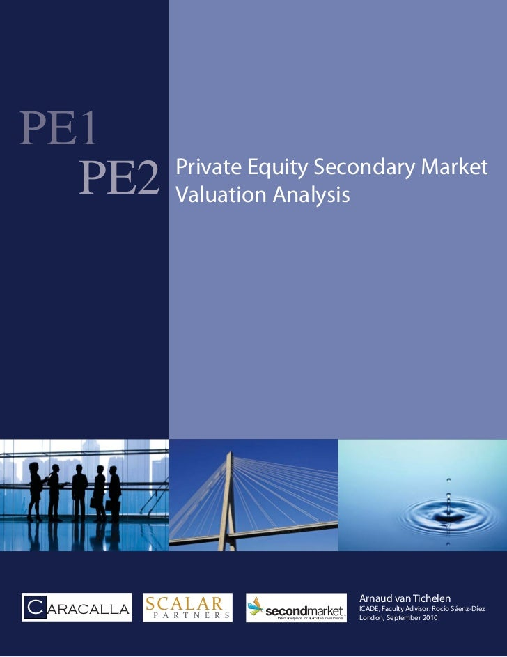 PE1      Private Equity Secondary Market  PE2 Valuation Analysis                                                          ...