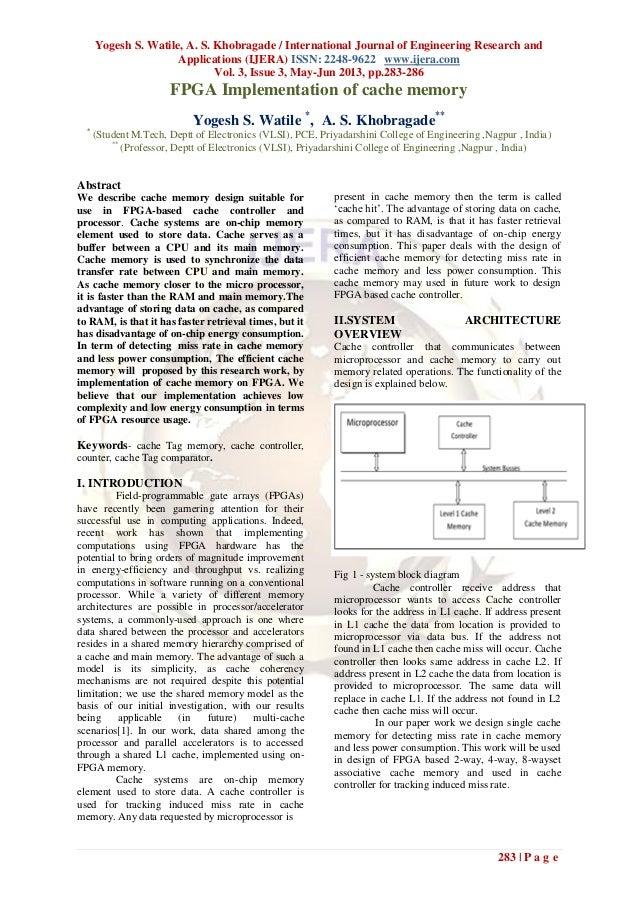 Yogesh S. Watile, A. S. Khobragade / International Journal of Engineering Research andApplications (IJERA) ISSN: 2248-9622...
