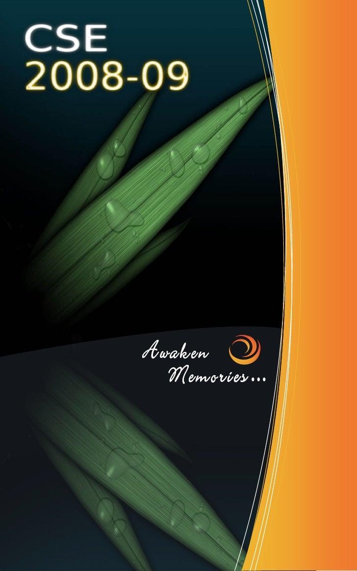 Awaken Memories ... - CSE(UOM) 2008/09