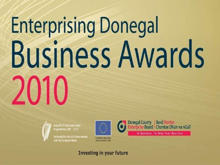 Enterprising Donegal Business Awards 2010
