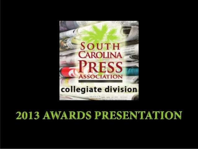 2013 SCPA Collegiate Awards Presentation