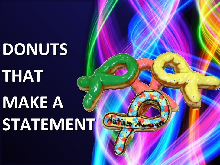 Donuts That Make a Statement