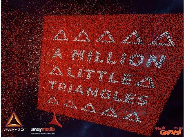Away3d: A million little triangles