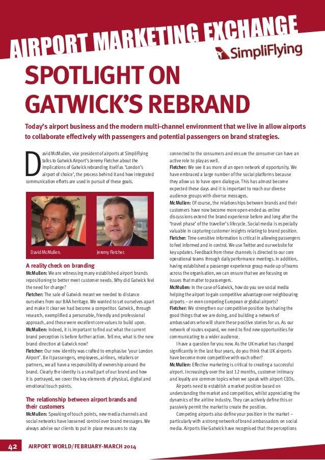 SimpliFlying Featured: Spotlight on Gatwick's Rebrand #airportmarketingX